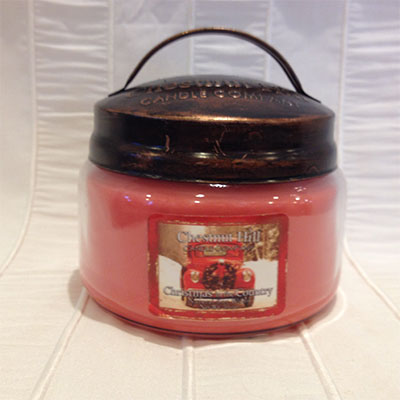 Jar 10oz christmas country chestnut hill