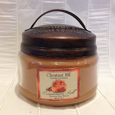 Jar 10oz cinnamon roll chestnut hill