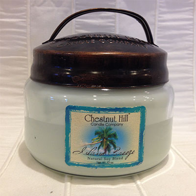 Jar 10oz island breeze chestnut hill